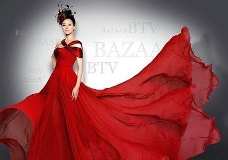 宋祖英为什么喜欢穿红色衣服?-中国色彩网