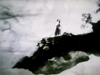 山水画视频图片下载; 古琴艺术的经典——水墨动画电影《山水情》