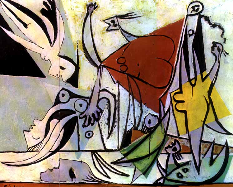 毕加索抽象画作品欣赏图片 毕加索抽象画作品欣赏,毕加索抽
