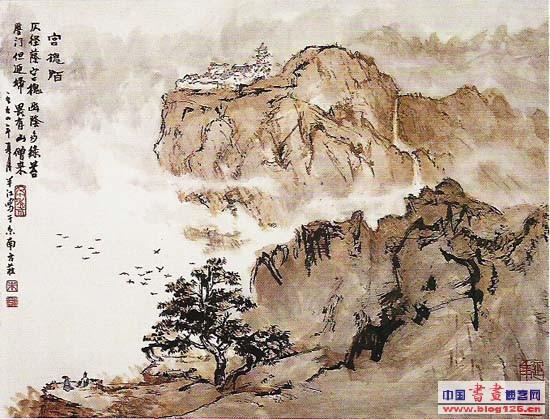王雪涛国画_朱鸿祥国画作品欣赏-中国色彩网