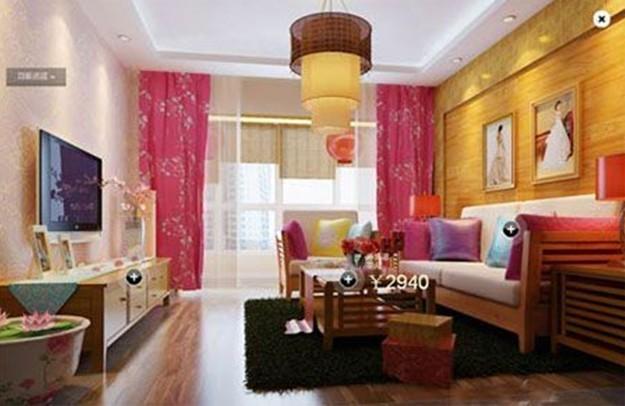 婚房客厅布置效果图大全