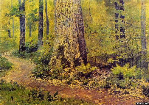 核心提示: 列维坦1888年以前作品《伏尔加河组画》《雨后》《白桦丛》等,显示了他用抒情笔调再现大自然的才华进入90年代,开始探索在风