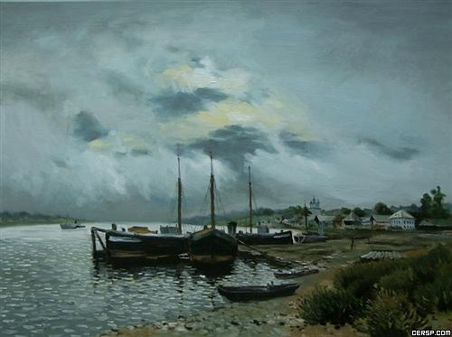 俄罗斯最杰出的风景画家--列维坦油画作品欣赏