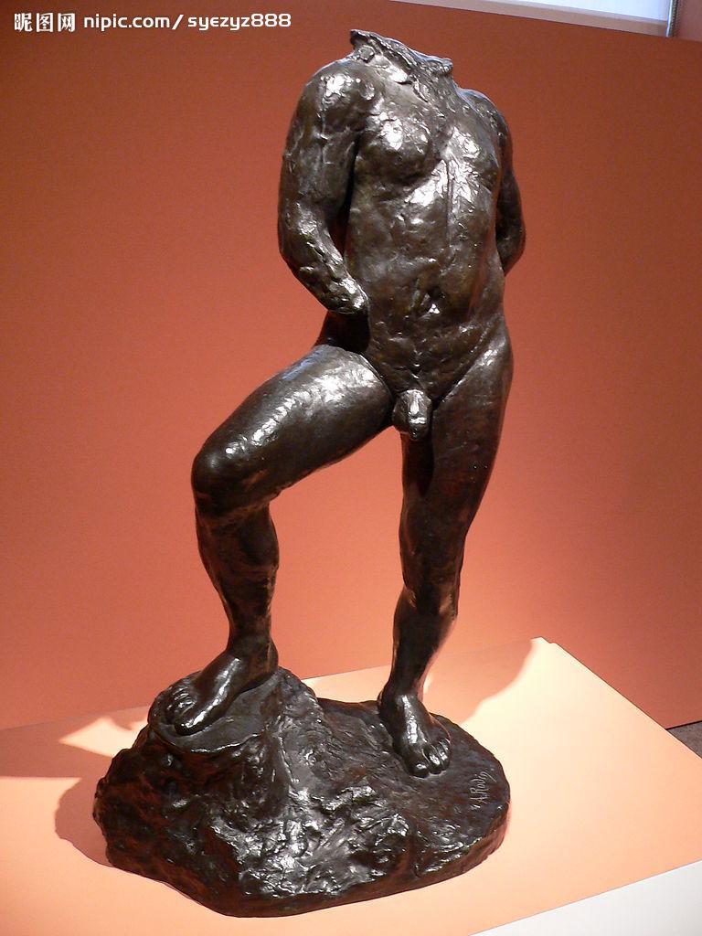 奥古斯特·罗丹雕塑作品