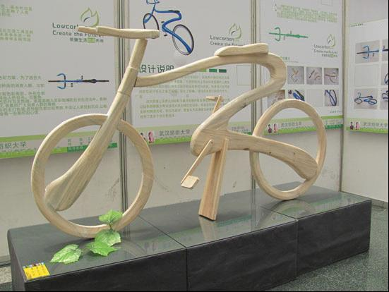 """武汉纺织大学艺术设计毕业作品关注""""环保"""