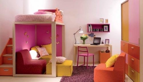 现代简约风格的小户型儿童房