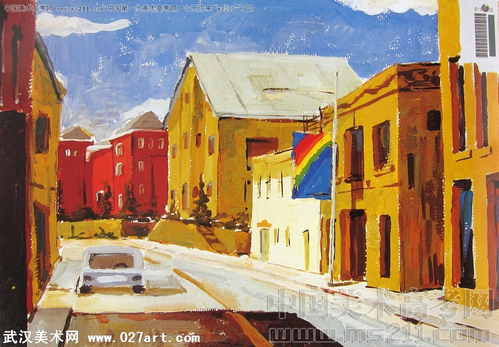 央美风景油画教程
