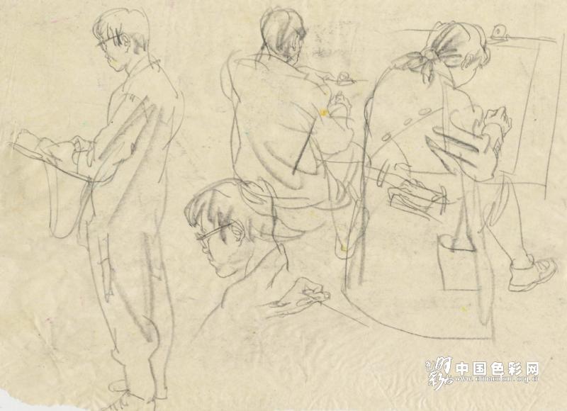 李明老师谈艺术高考速写