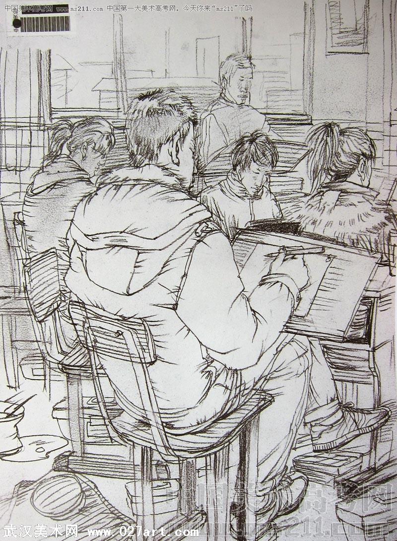 央美优秀试卷   2010年中央美术学院优秀试卷(艺术设计   高清图片