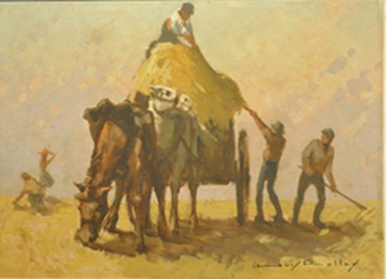 旅法著名画家——吕霞光
