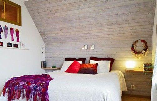 一张木板做床头设计图
