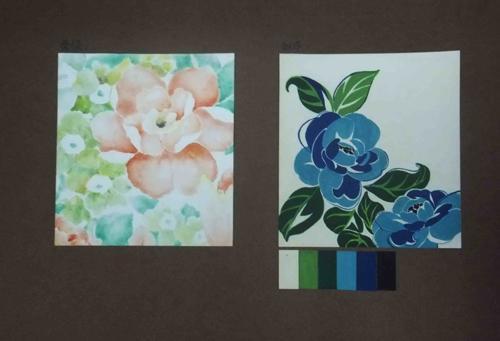 李东辉 作画媒材 白卡纸 色卡纸 彩色铅笔 勾线笔 水粉颜料 指导老师