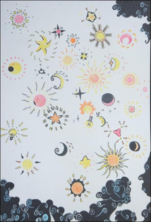 花朵黑白装饰画图片展示_花朵黑白装饰画相关图片  装饰花卉的变形