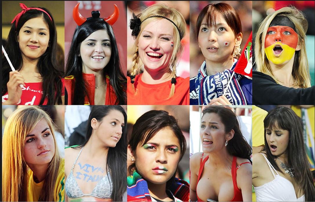 南非世界杯专题―美女球迷二